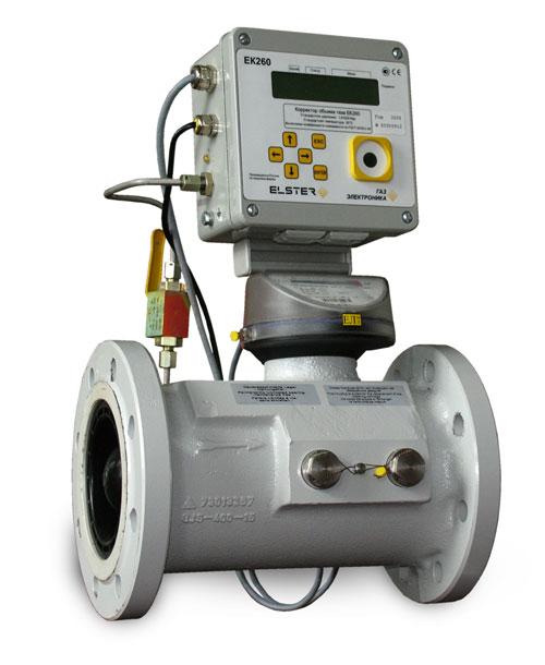 Комплекс для измерения количества газа СГ-ЭК-Т-800/1,6 Ду=150мм