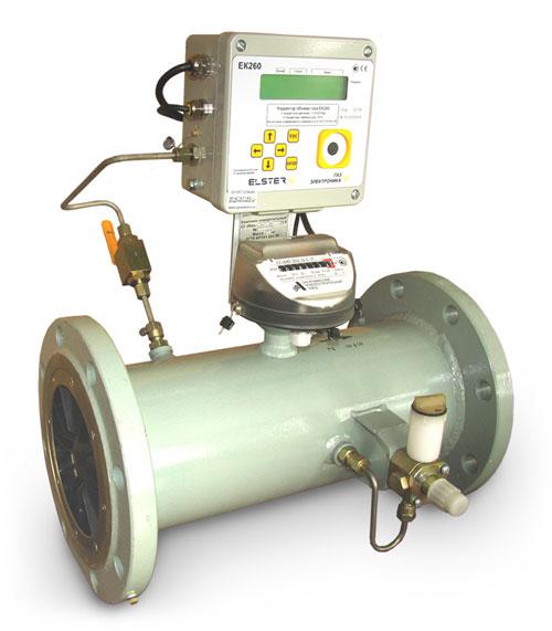 Измерительные комплексы газа СГ-ТК-Т-1000 на базе турбинных счетчиков СГ-16МТ